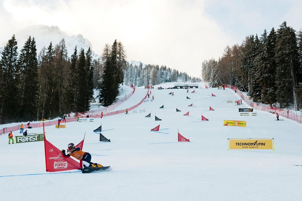 FIS Snowboard World Cup - Carezza ITA - PGS - YANETANI Eri JPN © Miha Matavz
