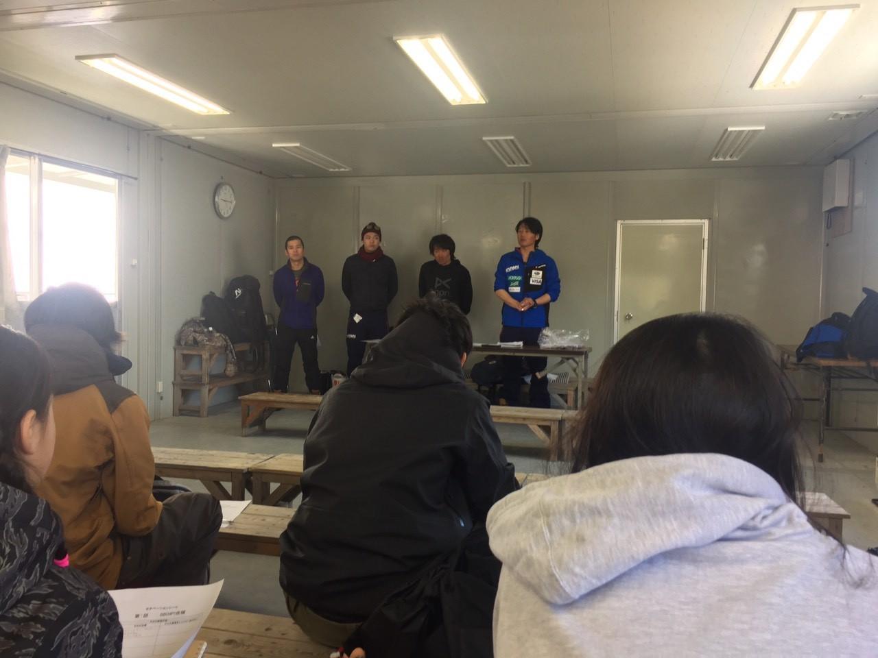 神戸・村上コーチによるスポーツマンシップ講習会