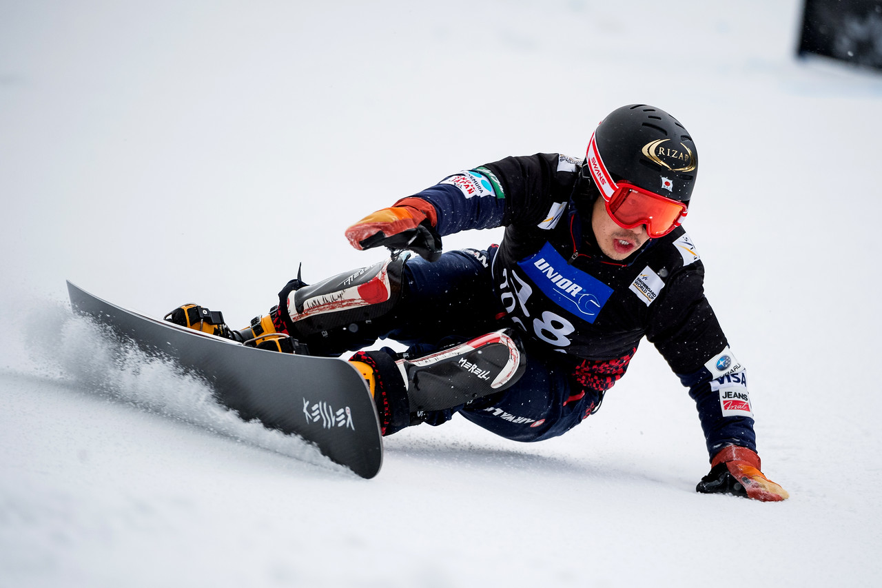 FIS Snowboard World Cup - Rogla SLO - PGS - SHIBA Masaki JPN © Miha Matavz/FIS